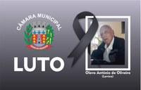 Nota de Pesar pelo falecimento de Olavo Antônio de Oliveira (Lavico)